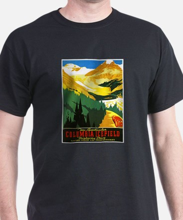 Canada Travel Poster 7 T-Shirt