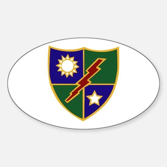 75th Infantry (Ranger) Regiment Sticker (Oval)