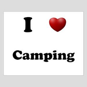 Camping Small Poster