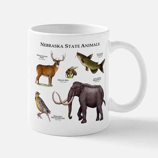 Nebraska State Animals Mug