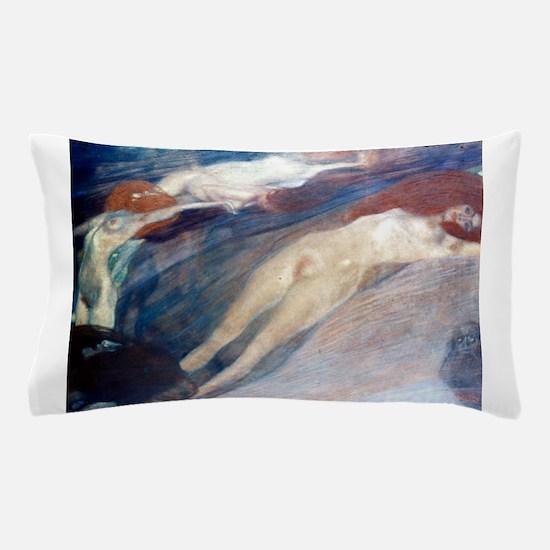 Klimt - Moving Water Pillow Case