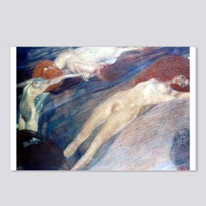 Klimt - Moving Water Postcards (Package of 8)