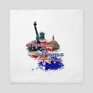 USA - Australia: Queen Duvet