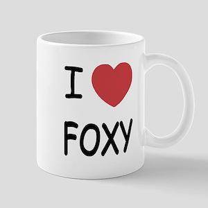 I heart FOXY Mug