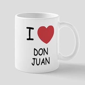 I heart DON JUAN Mug