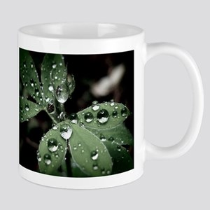 Drops on Leaves Mug
