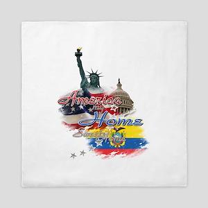 USA - Ecuador: Queen Duvet