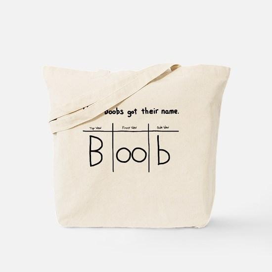 How Boobs got their name Tote Bag