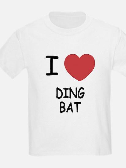 I heart DINGBAT T-Shirt