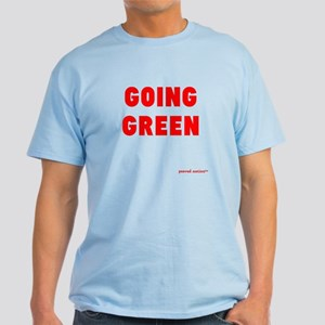 Going Green in blue