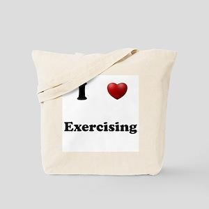Exercising Tote Bag