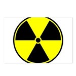 Radioactive sign1 Postcards (Package of 8)