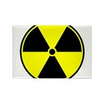 Radioactive sign1 Rectangle Magnet (100 pack)