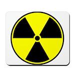 Radioactive sign1 Mousepad