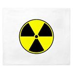Radioactive sign1 King Duvet