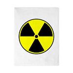 Radioactive sign1 Twin Duvet