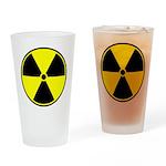 Radioactive sign1 Drinking Glass
