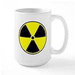 Radioactive sign1 Large Mug
