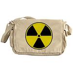 Radioactive sign1 Messenger Bag