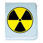 Radioactive sign1 baby blanket