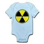 Radioactive sign1 Infant Bodysuit
