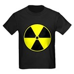 Radioactive sign1 Kids Dark T-Shirt