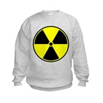 Radioactive sign1 Kids Sweatshirt