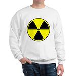Radioactive sign1 Sweatshirt