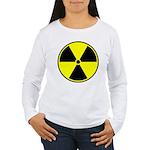 Radioactive sign1 Women's Long Sleeve T-Shirt
