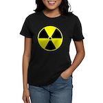 Radioactive sign1 Women's Dark T-Shirt
