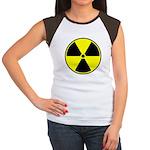 Radioactive sign1 Women's Cap Sleeve T-Shirt