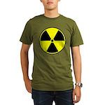 Radioactive sign1 Organic Men's T-Shirt (dark)
