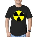 Radioactive sign1 Men's Fitted T-Shirt (dark)
