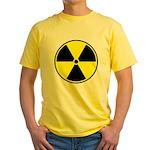 Radioactive sign1 Yellow T-Shirt