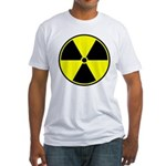 Radioactive sign1 Fitted T-Shirt