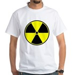 Radioactive sign1 White T-Shirt