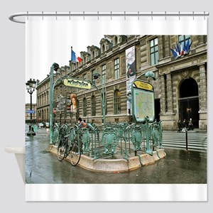 Paris No. 9 Shower Curtain