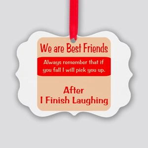 Best Friends Picture Ornament