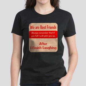Best Friends Women's Dark T-Shirt