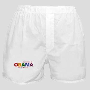 Obama 2012 Gay Marriage Boxer Shorts