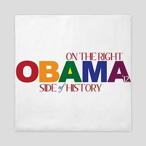 Obama 2012 Gay Marriage Queen Duvet