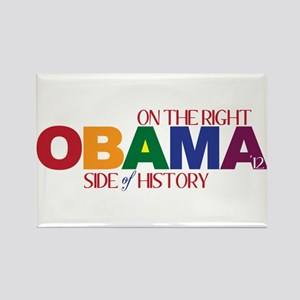 Obama 2012 Gay Marriage Rectangle Magnet