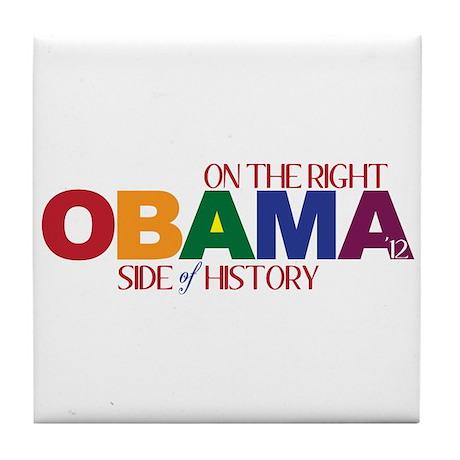 Obama 2012 Gay Marriage Tile Coaster