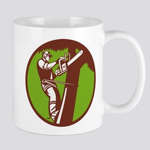 Arborist Tree Surgeon Trimmer Pruner Mug