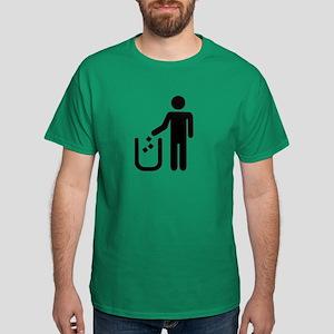 Litter waste garbage Dark T-Shirt