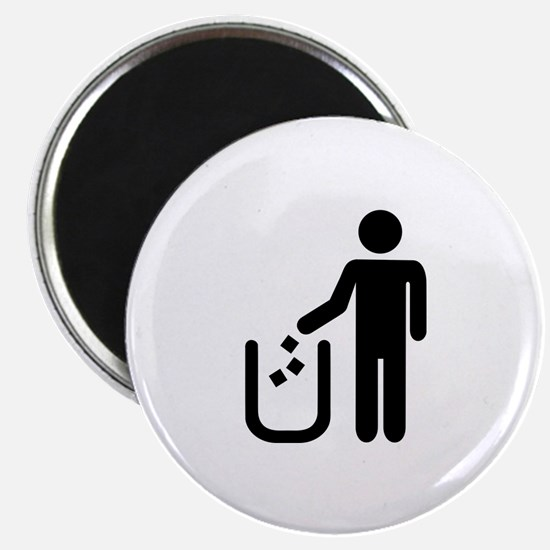 Litter waste garbage Magnet