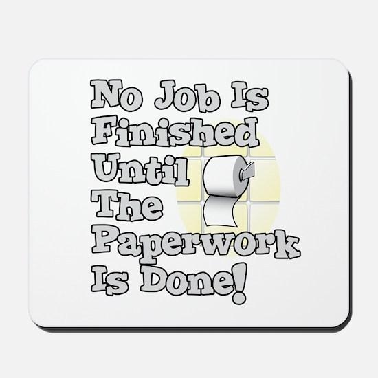 Paperwork Mousepad