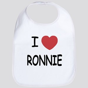 I heart RONNIE Bib