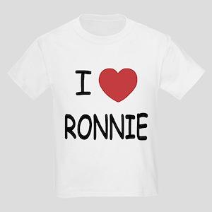 I heart RONNIE Kids Light T-Shirt