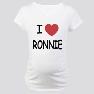 I heart RONNIE Maternity T-Shirt